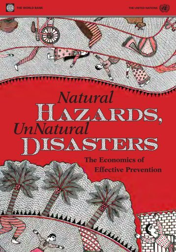 Natural Hazards, UnNatural Disasters - ISBN ... - GFDRR