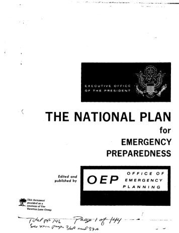 Attachment M.2.b Sample Emergency Preparedness Plan Notices