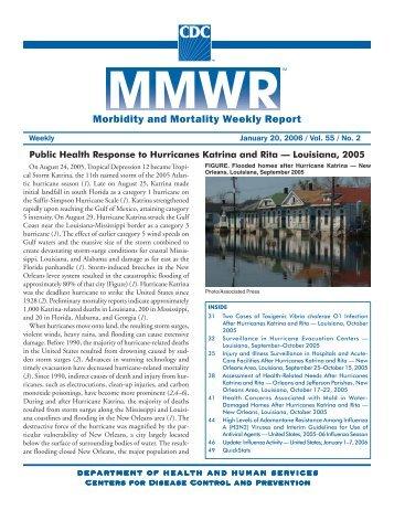 Public Health Response to Hurricanes Katrina and Rita - Centers for ...
