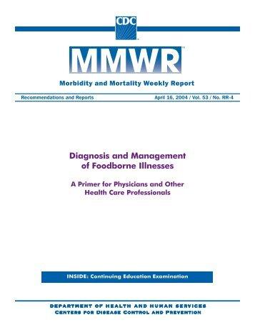 Diagnosis and Management of Foodborne Illnesses - Penn Medicine