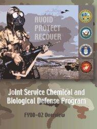 Joint Service Chemical & Biological Defense Program Overview ...