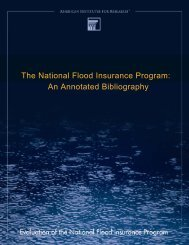 An Annotated Bibliography, FEMA - Medical and Public Health Law ...