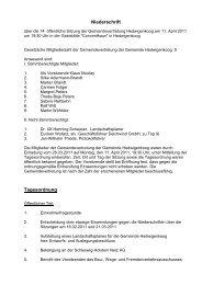 Sitzung vom 11.04.2011 - Amt Büsum