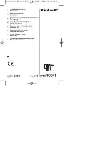 BT-RH 900/1 - Einhell