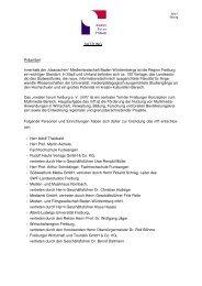 SATZUNG Präambel Innerhalb der - beim medien forum freiburg