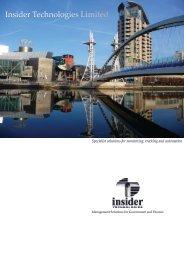 Insider Technologies Company Brochure - Application ...