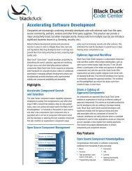 Accelerating Software Development