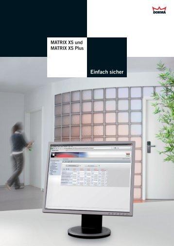 D-MATRIX XS.indd - Dorma