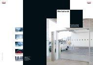 Mechatronik Sales Folder, Funktionsvielfalt rund um die Tür - Dorma
