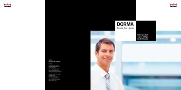 DORMA Time + Access - The DORMA Ordering system