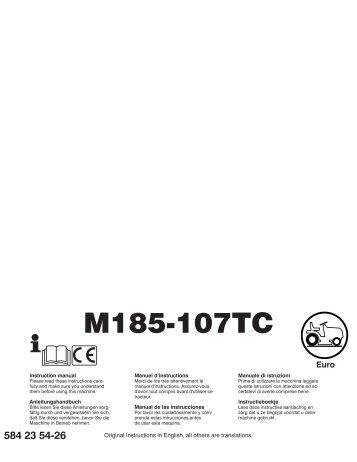 OM, McCulloch, M185-107TC, 960510067, 2013 ... - Plantes et Jardins