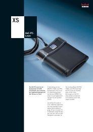 Datenblatt AoC-PC-Leser (MBB)(STA)(DTA)(DORMA Time + Access)