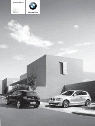 Preisliste 1er BMW Stand März 2007 - Mein 1er Blog