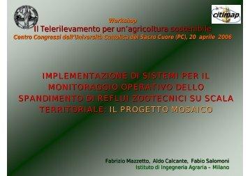 implementazione di sistemi per il monitoraggio operativo dello ...