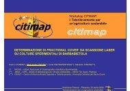 Determinazione di fractional cover da scansione laser su colture ...