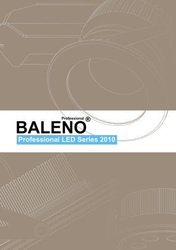 Professional LED Series 2010 - Van Spijk Agenturen
