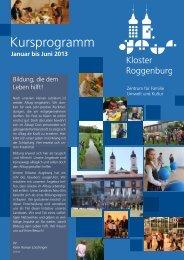 Kursprogramm - Kloster Roggenburg