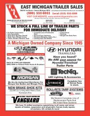 East michigan trailer sales