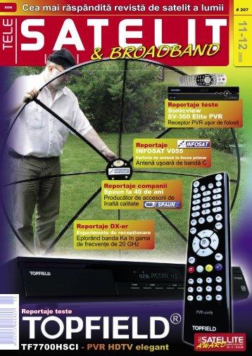 SatcoDX - TELE-satellite International Magazine