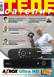 AZBox Ultra HD - TELE-satellite International Magazine