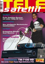 TM-7100 HD - TELE-satellite International Magazine