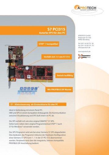 S7 PCI315