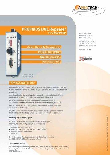 PROFIBUS LWL Repeater