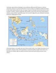 Informacije o Indoneziji