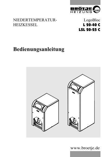 Bedienungsanleitung LogoBloc - Brötje