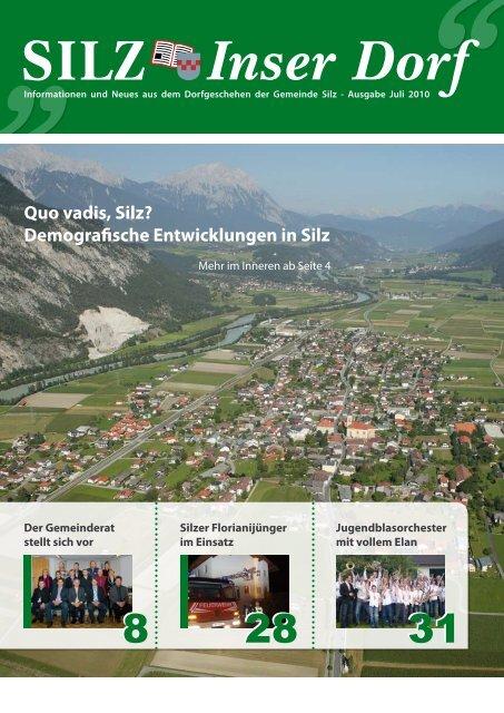 Singles Silz, Kontaktanzeigen aus Silz bei Tirol bei