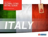 download Italy overview - Cushman & Wakefield's Global Cities ...