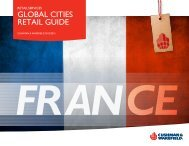 download France overview - Cushman & Wakefield's Global Cities ...