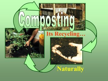 Composting - Los Alamos County Extension Office