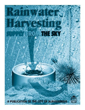 Rainwater Harvesting, Supply from the Sky - Office of the State ...