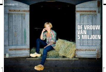 DE VROUW VAN 5 MILJOEN - Nikki Sterkenburg