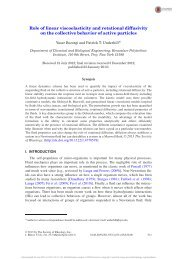 Role of linear viscoelasticity and rotational diffusivity on the ...