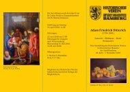Adam Friedrich Ditterich - Museen der Stadt Bamberg