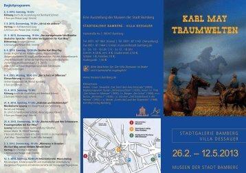 KARL MAY TRAUMWELTEN - Museen der Stadt Bamberg