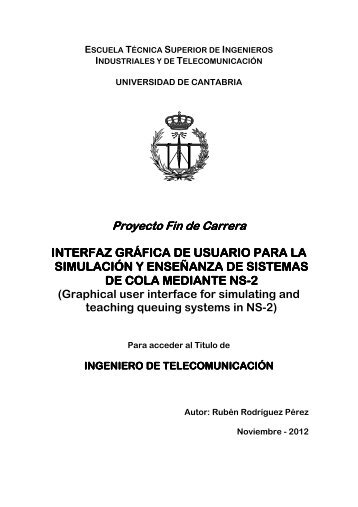 NS-2 - Universidad de Cantabria
