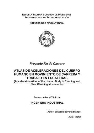 atlas de aceleraciones del cuerpo humano en movimiento de ...