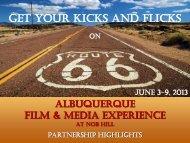 get your kicks and flicks - Department of Cinematic Arts - University ...