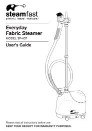 Everyday Fabric Steamer - Amazon S3