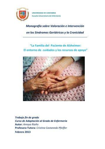 Monografía sobre Valoración e Intervención en los Síndromes ...