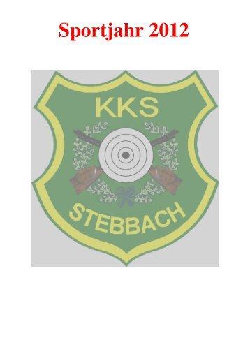Sportjahr 2012 - KKS Stebbach eV