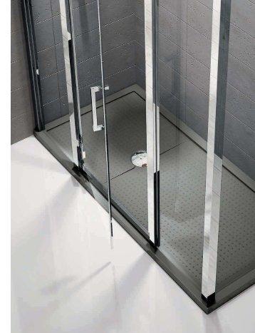 Bases de chuveiro - Novellini