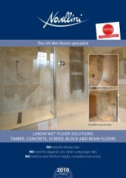 The UK Wet Room specialist - Novellini