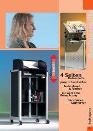 Rednerpulte - Conen GmbH & Co. KG