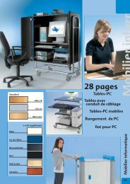 Mobilier informatique - Conen GmbH & Co. KG