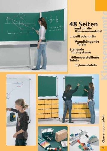 Klassenraumtafeln - Conen GmbH & Co. KG