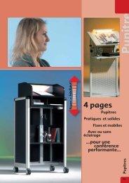 Pupitres - Conen GmbH & Co. KG